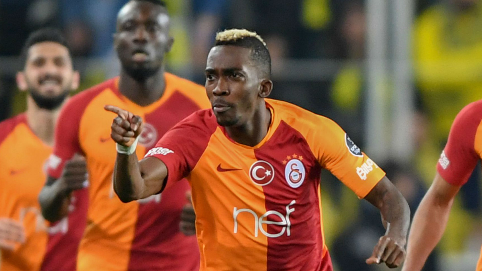 Onyekuru bags brace on Galatasaray return against Gaziantep