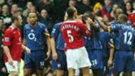 Manchester United Arsenal 2004 'Pizzagate'