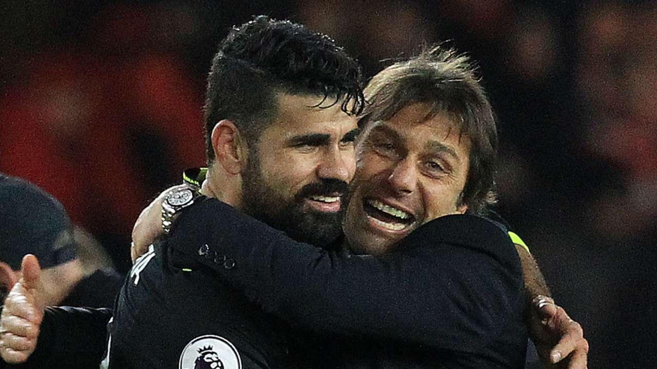 Diego Costa Antonio Conte Chelsea