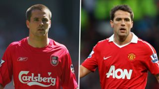 Michael Owen, Liverpool, Man Utd