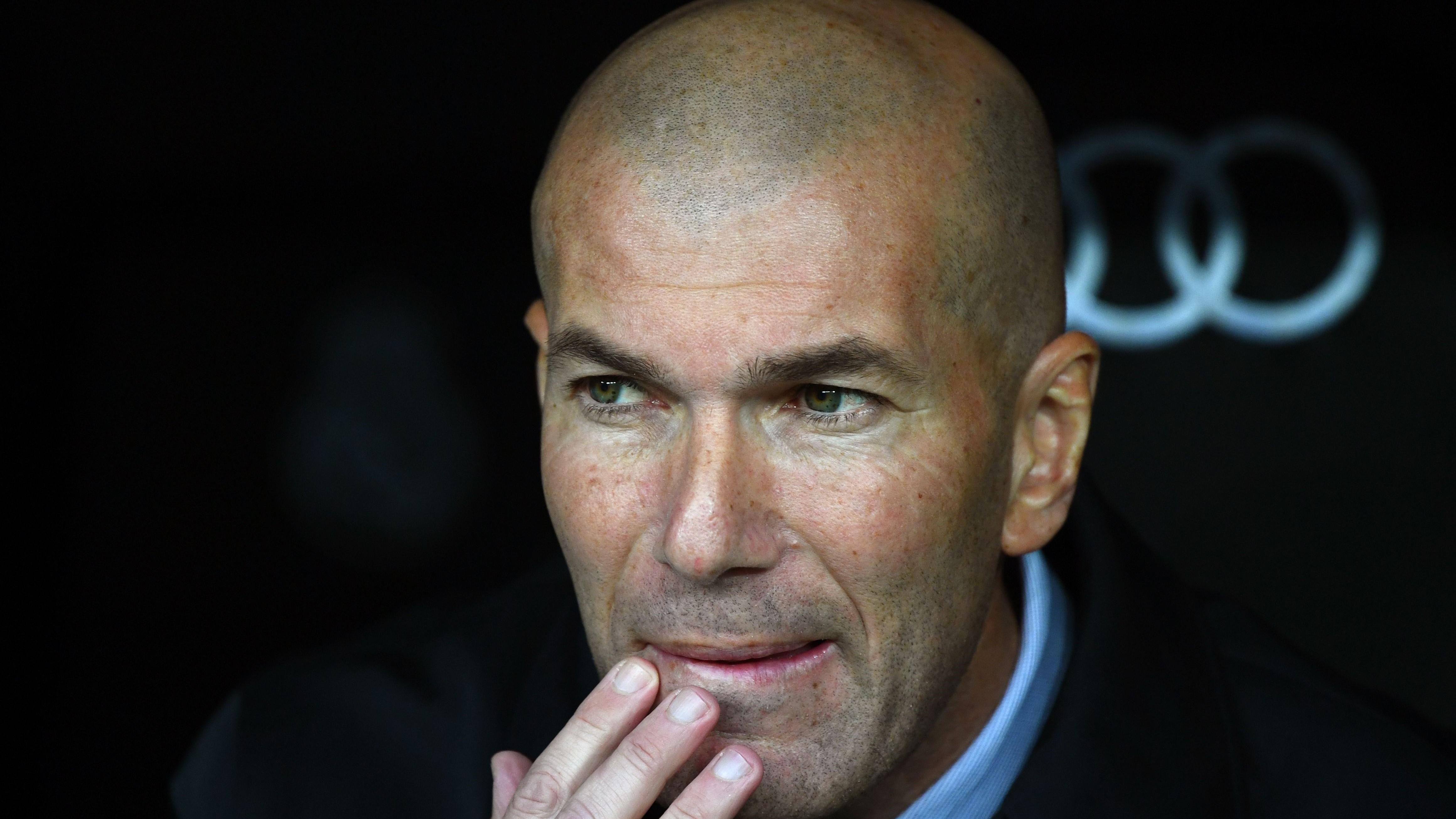 """Real Madrid - Zidane : """"La coupe d'Espagne est importante pour nous"""""""