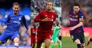 BEST XI : 11 แข้งทีมรวมดาว 6 ลีกใหญ่ยุโรป