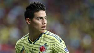 James Rodriguez Colombia 2019