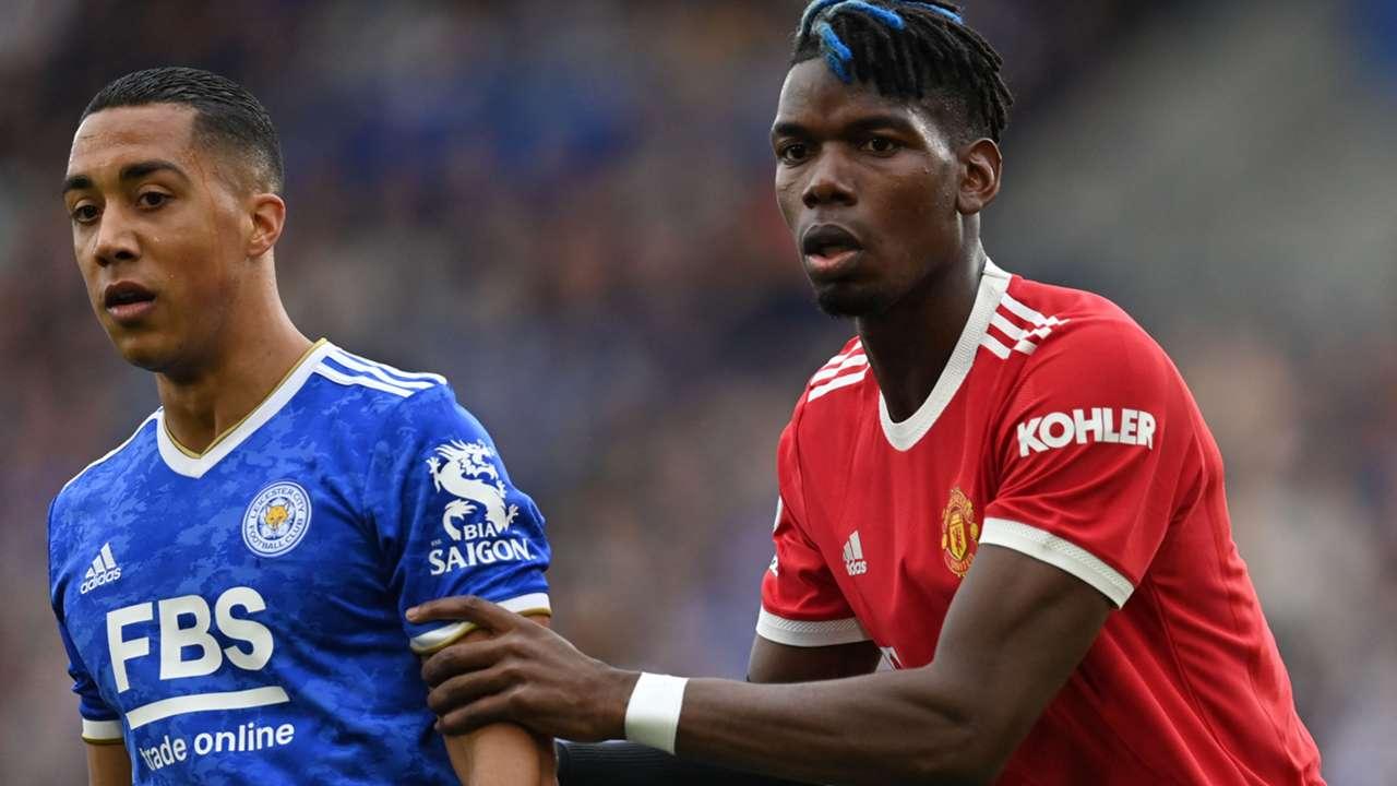 Paul Pogba Manchester United Premier League 2021-22