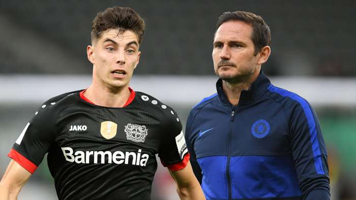 Kai Havertz Frank Lampard Chelsea