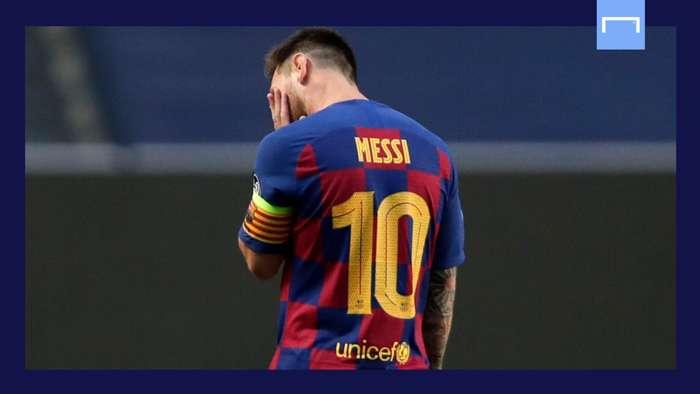 Lionel Messi Barcelona GFX