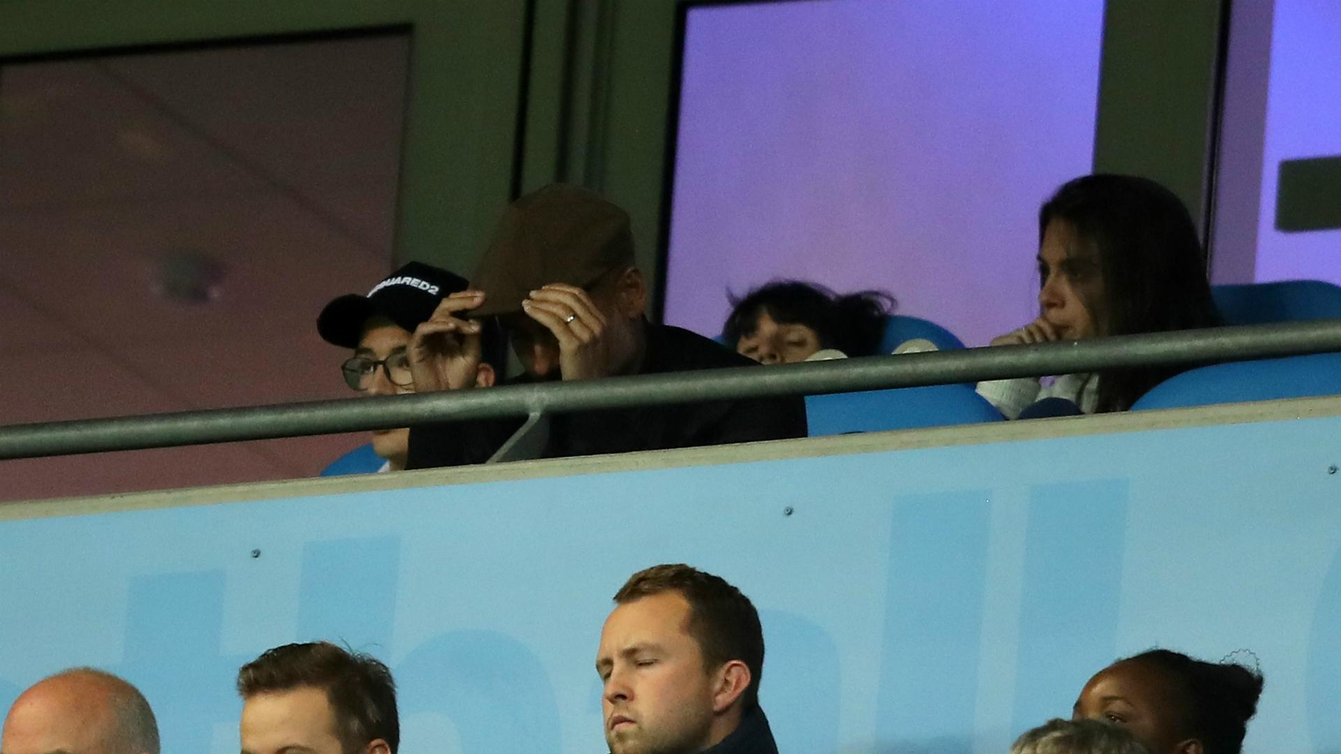 Pep Guardiola Manchester City Lyon Champions League