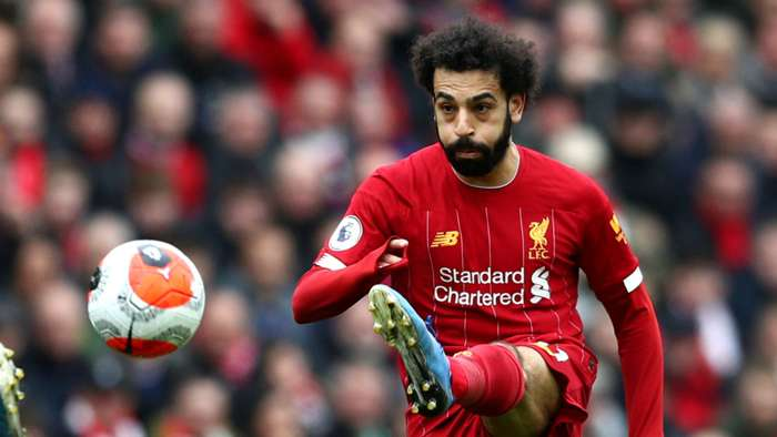 Mohamed Salah Liverpool Bournemouth 2019-20