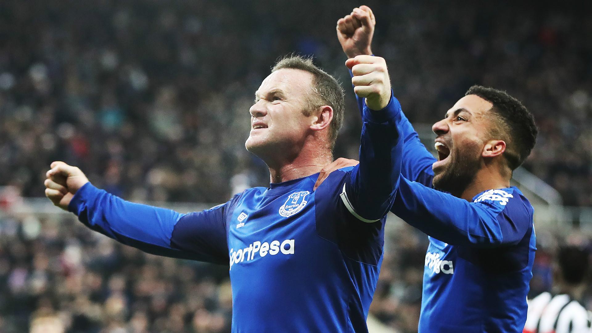 Wayne Rooney Everton
