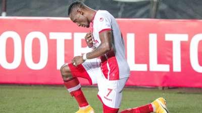 Simba SC striker Chris Mugalu.