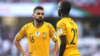 Socceroos Jordan Aziz Behich Awer Mabil
