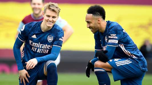 Arsenal confirm Aubameyang and Odegaard will miss Fulham match | Goal.com