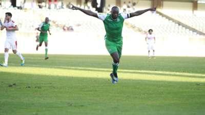 Gor Mahia striker Dennis Oliech v Zamalek.