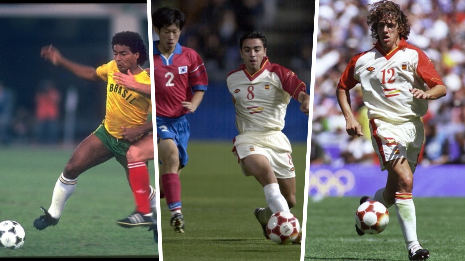 Xavi, Puyol to Romario – Notable players who have missed out on an Olympic gold medal