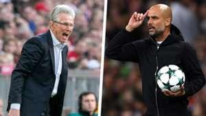 Jupp Heynckes Pep Guardiola Split