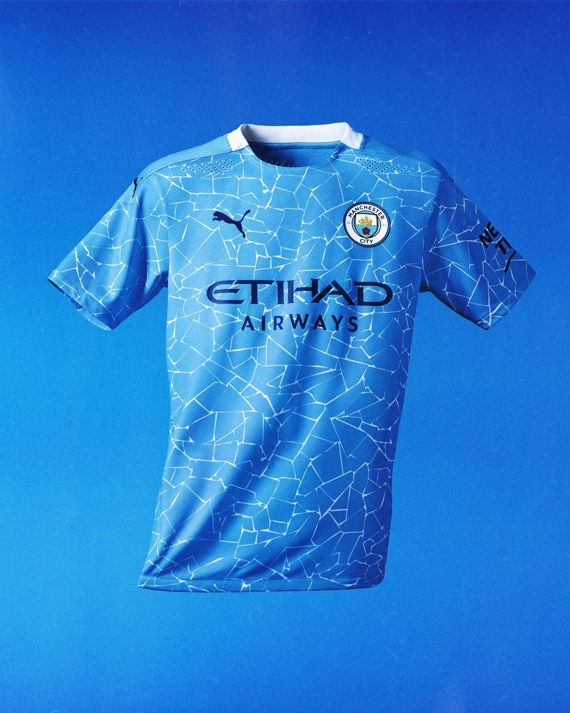 From The Northern Quarter To The Etihad Man City Unveil New Mosaic Inspired 2020 21 Home Kit Goal Com