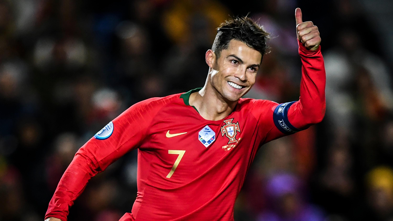 Portuguese soccer star Cristiano Ronaldo tests positive