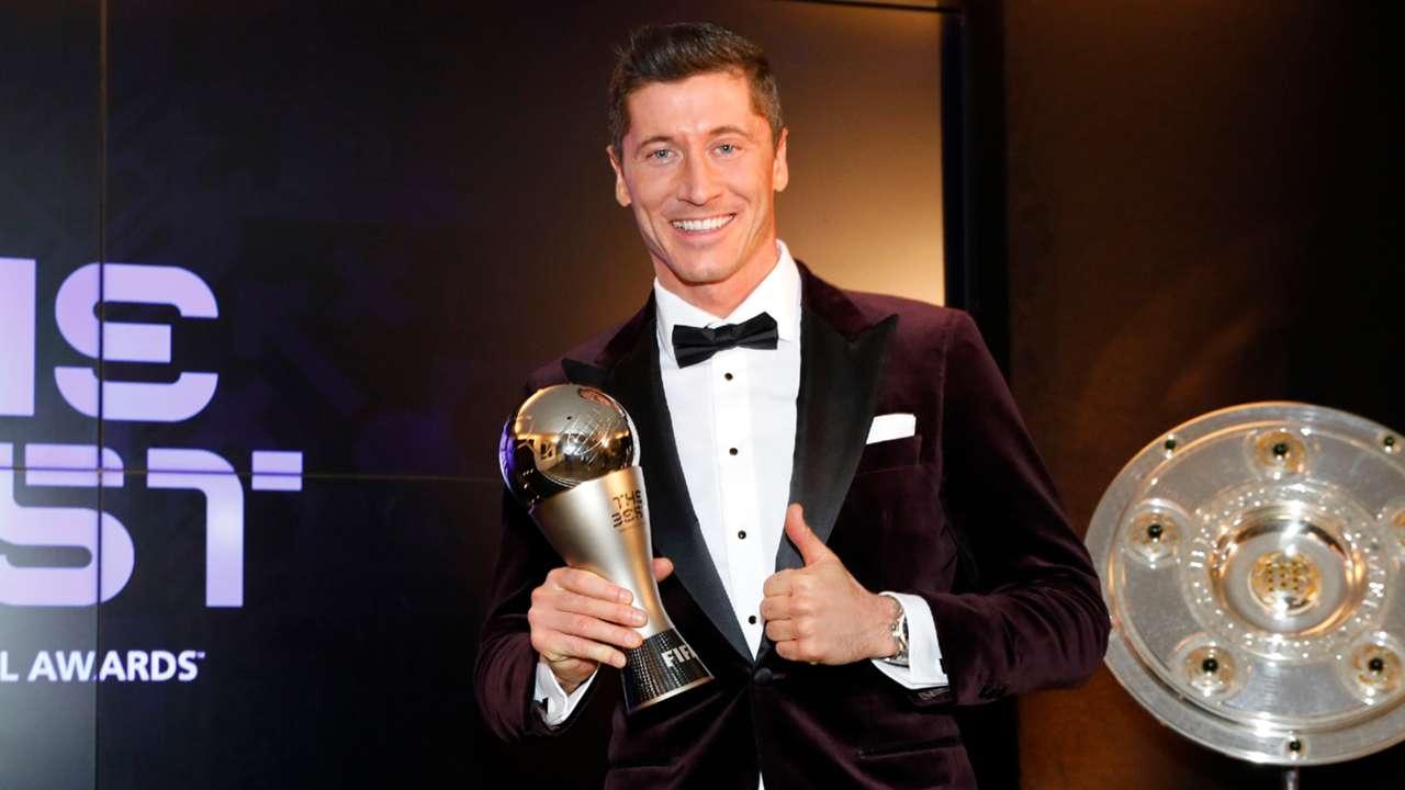 Robert Lewandowski FIFA The Best Award Trophy 2020