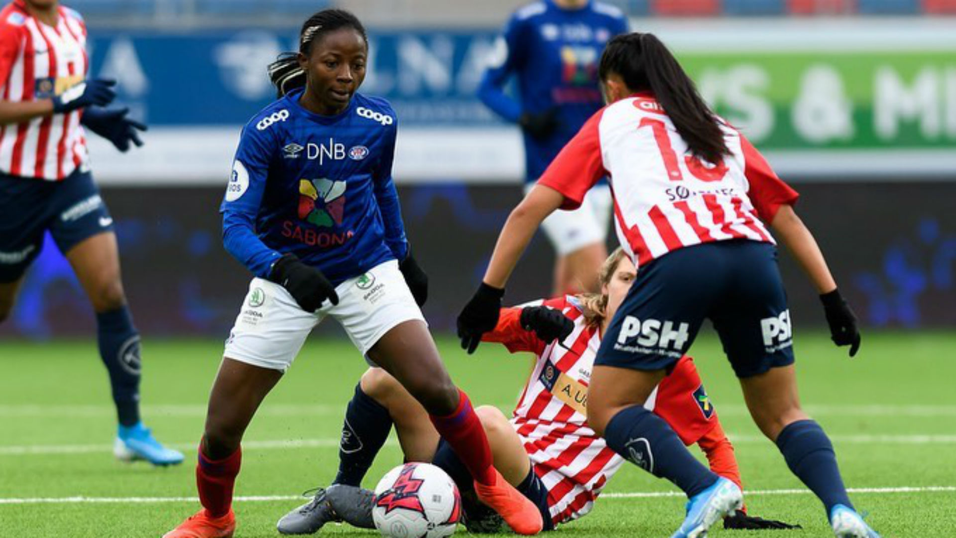 Nchout's Valerenga ease past Ajibade's Avaldsnes into Norwegian Women's Cup final