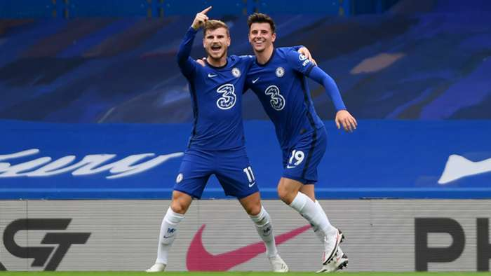 Timo Werner Mason Mount Chelsea 2020-21