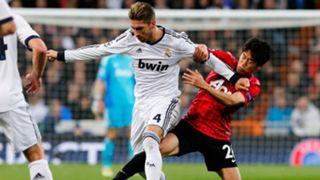 Sergio Ramos Real Madrid Manchester United