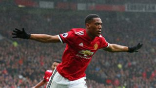 Anthony Martial Manchester United Tottenham Premier League