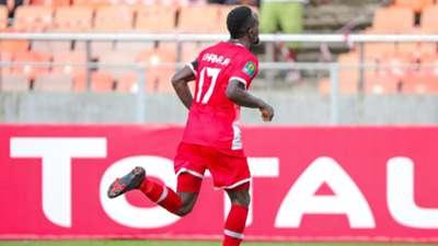 Clatous Chama of Simba SC celebrates.