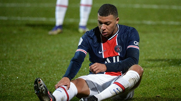 姆巴佩在大巴黎首次面临信心危机 最近比赛并未达到最好的状态