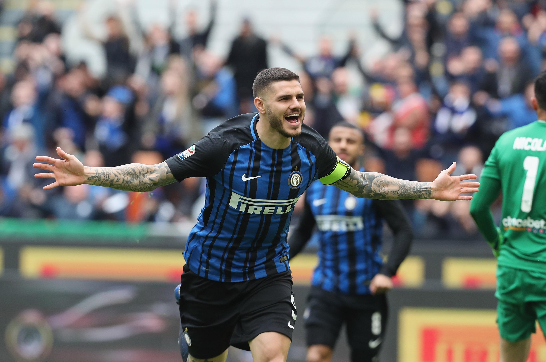 Inter Milan Mauro Icardi Depasse Son Meilleur Total De Buts En Serie A Goal Com