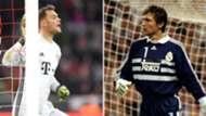 Manuel Neuer y Bodo Illgner