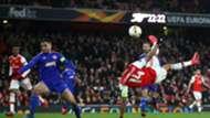 Aubameyang's acrobatic strike vs Olympiacos