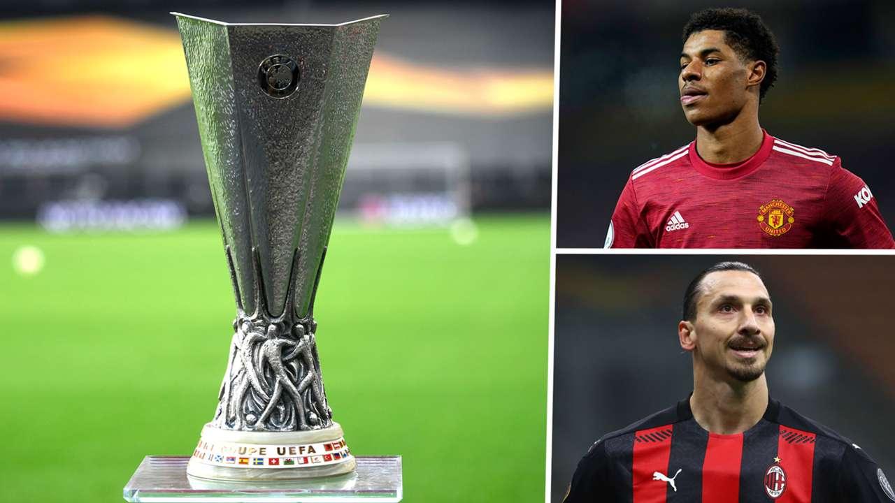Europa League Marcus Rashford Zlatan Ibrahimovic 2020-21