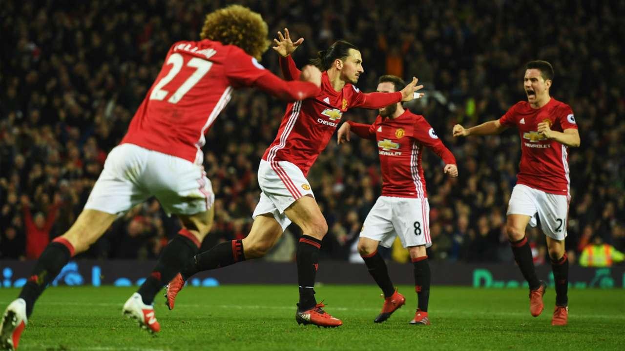 Zlatan Ibrahimovic Manchester United Liverpool