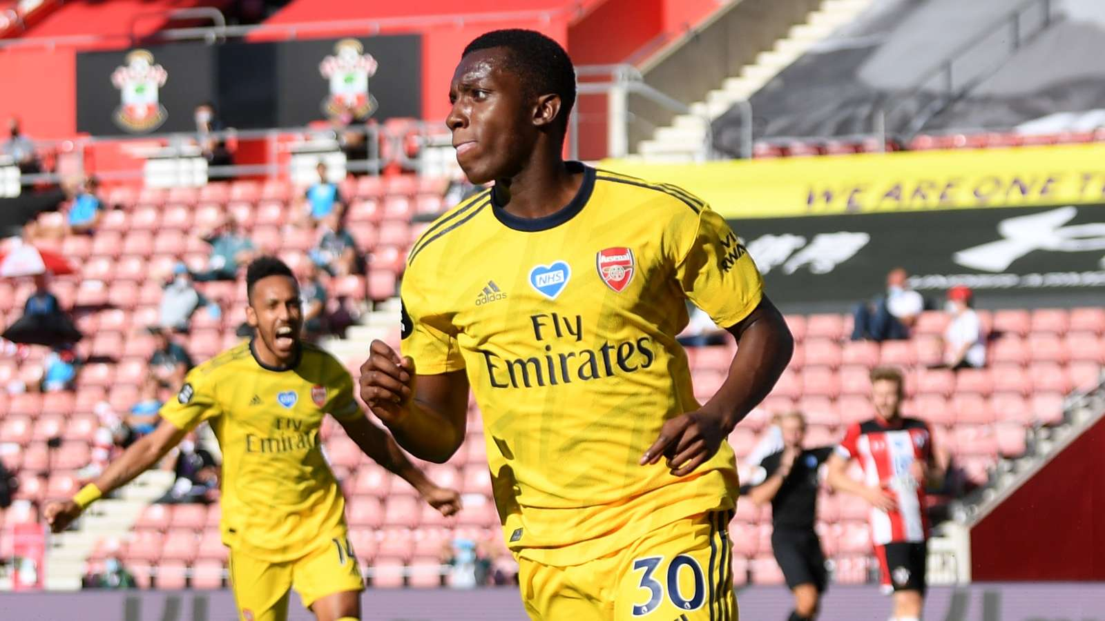 Nketiah Arsenal 2020