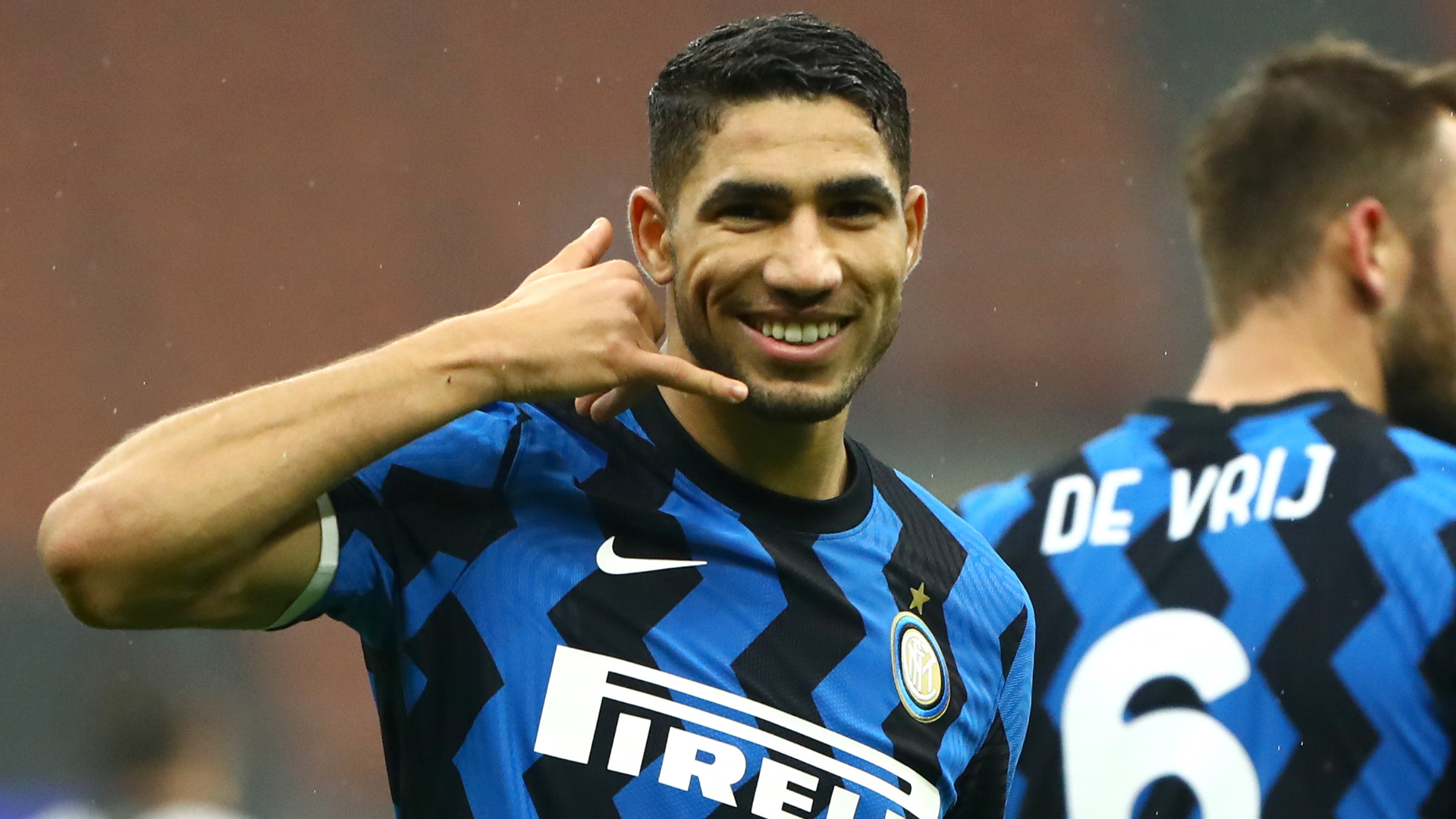 Hakimi hopes to stay at Inter Milan 'for a long time'