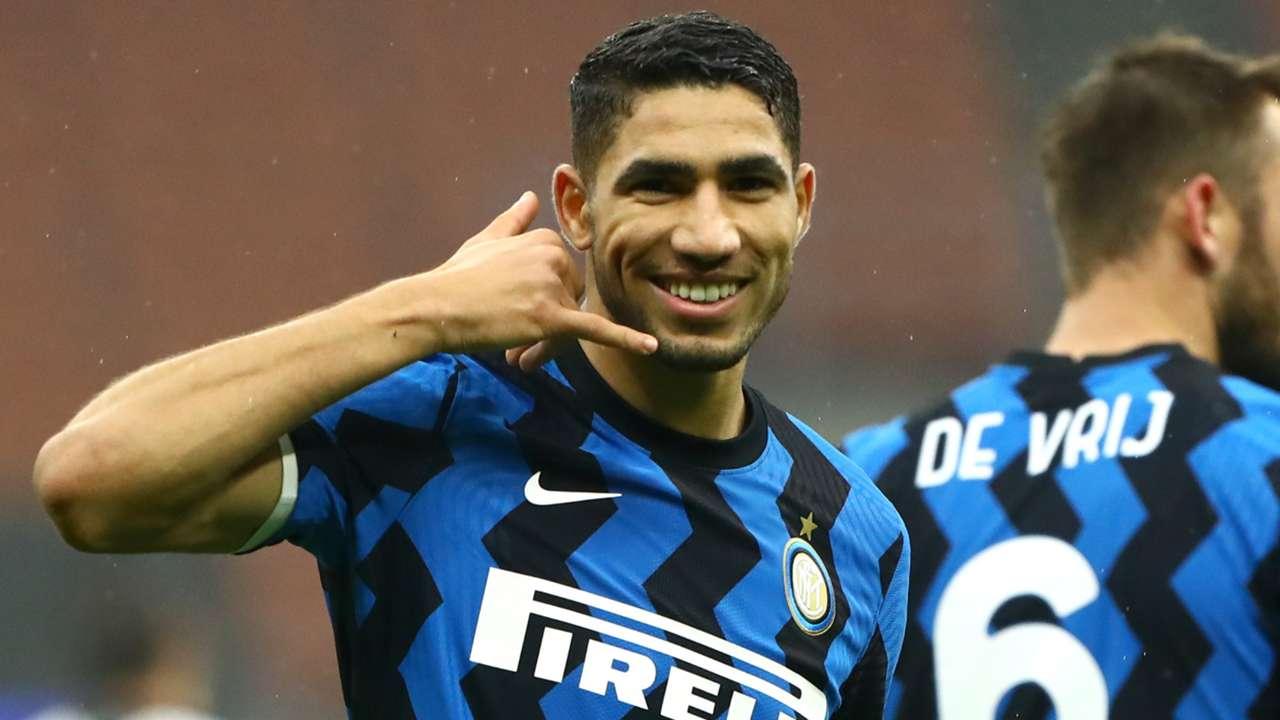 Achraf Hakimi, Inter 2021