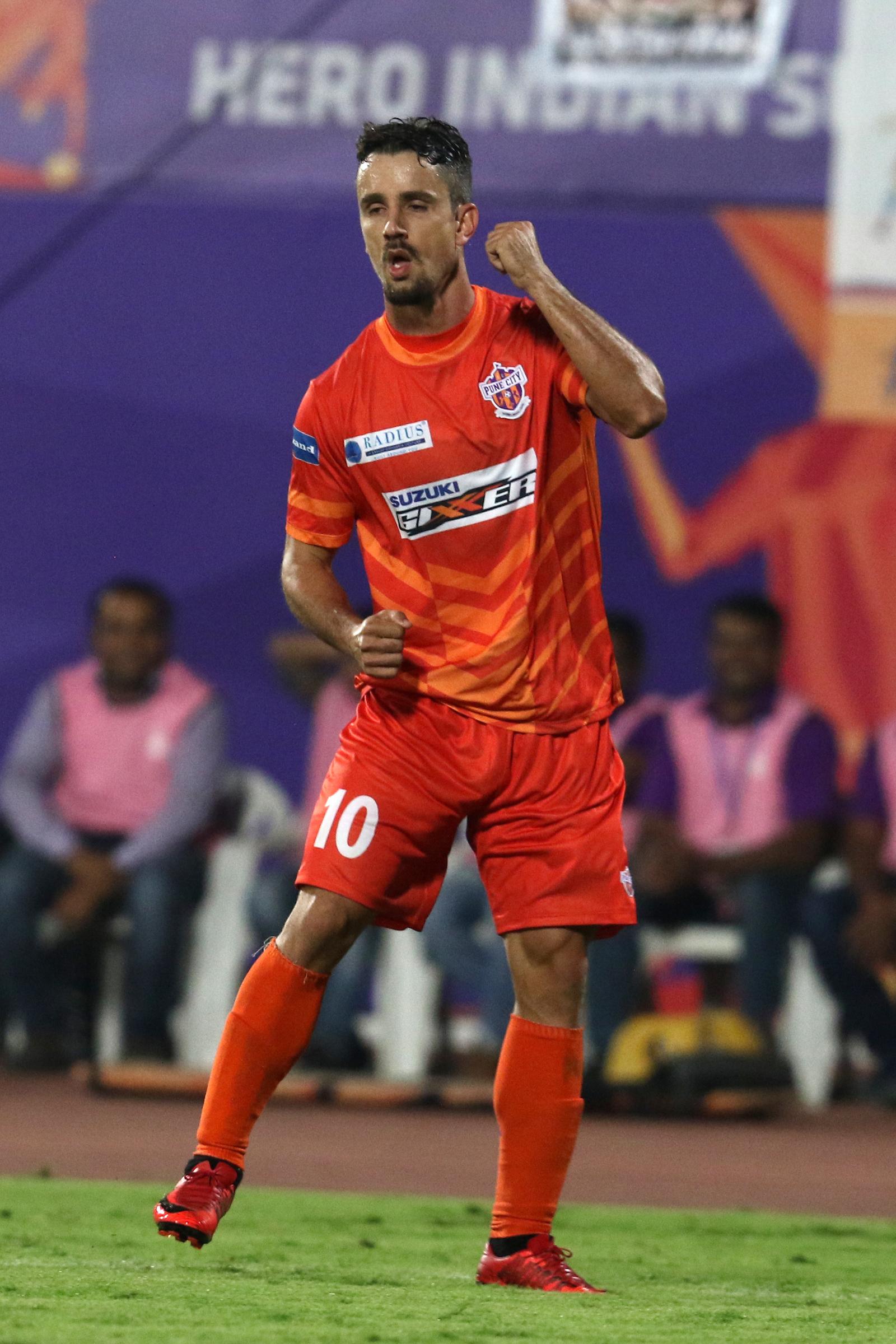 Marcelo FC Pune City FC Goa ISL