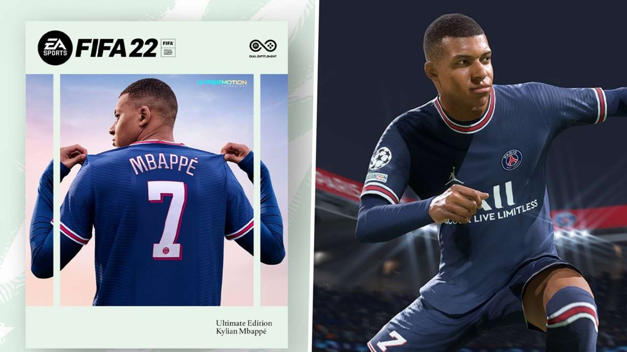FIFA 22 Ultimate Edition Kylian Mbappe