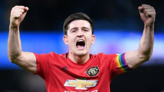 Harry Maguire Manchester City vs Manchester United 2019-20