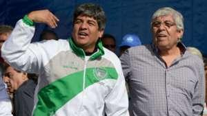 Pablo y Hugo Moyano Deportivo Camioneros