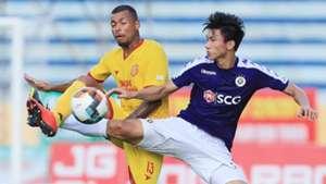 Gustavo Almeyda dos Santos Nam Dinh vs Ha Noi FC National Cup 2019