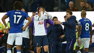 Son Heung-min Everton vs Tottenham 2019-20