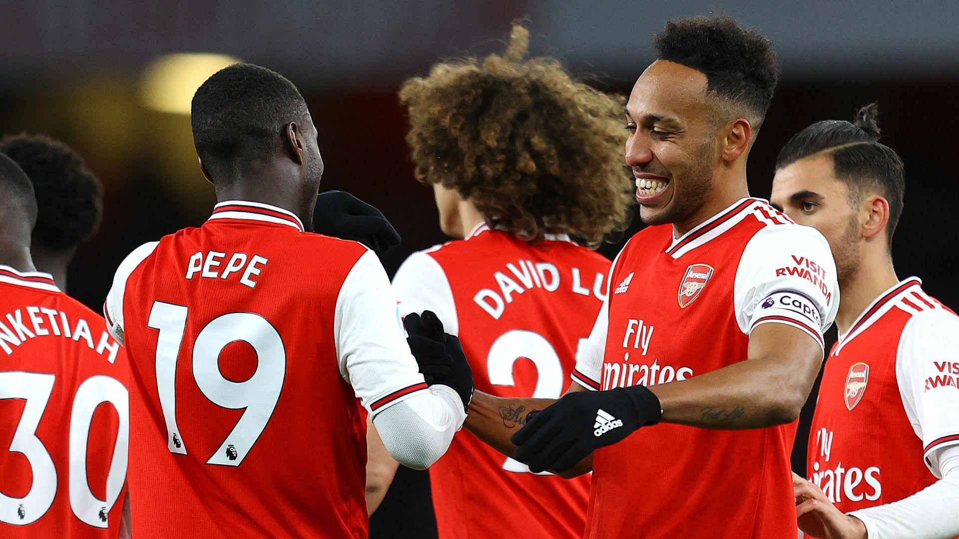 """Arsenal, Lacazette : """"La Premier League va voir le bon Nicolas Pépé"""""""