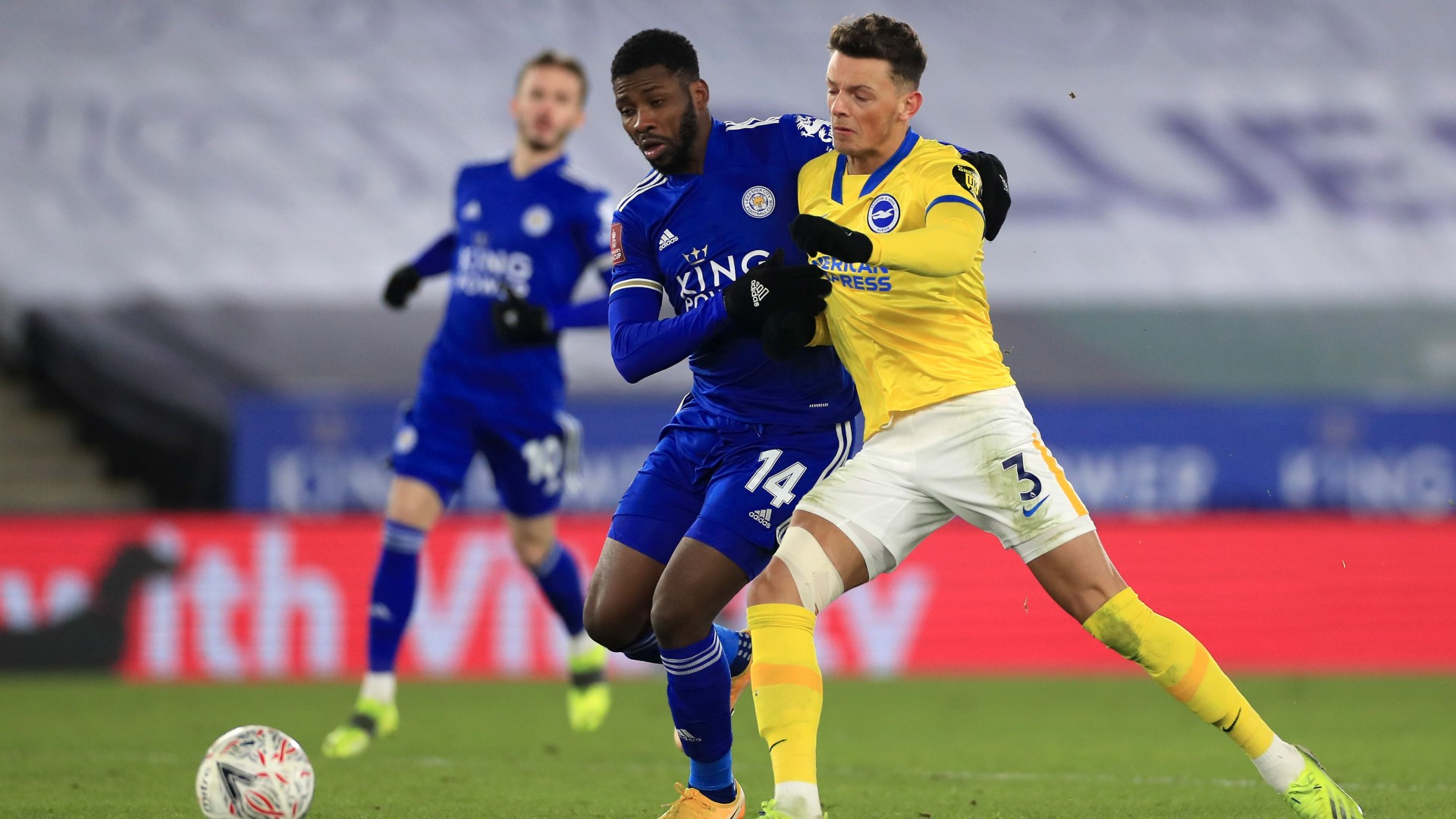 'It was too cold for extra-time' – Iheanacho thrilled to lead Leicester City past Brighton & Hove Albion