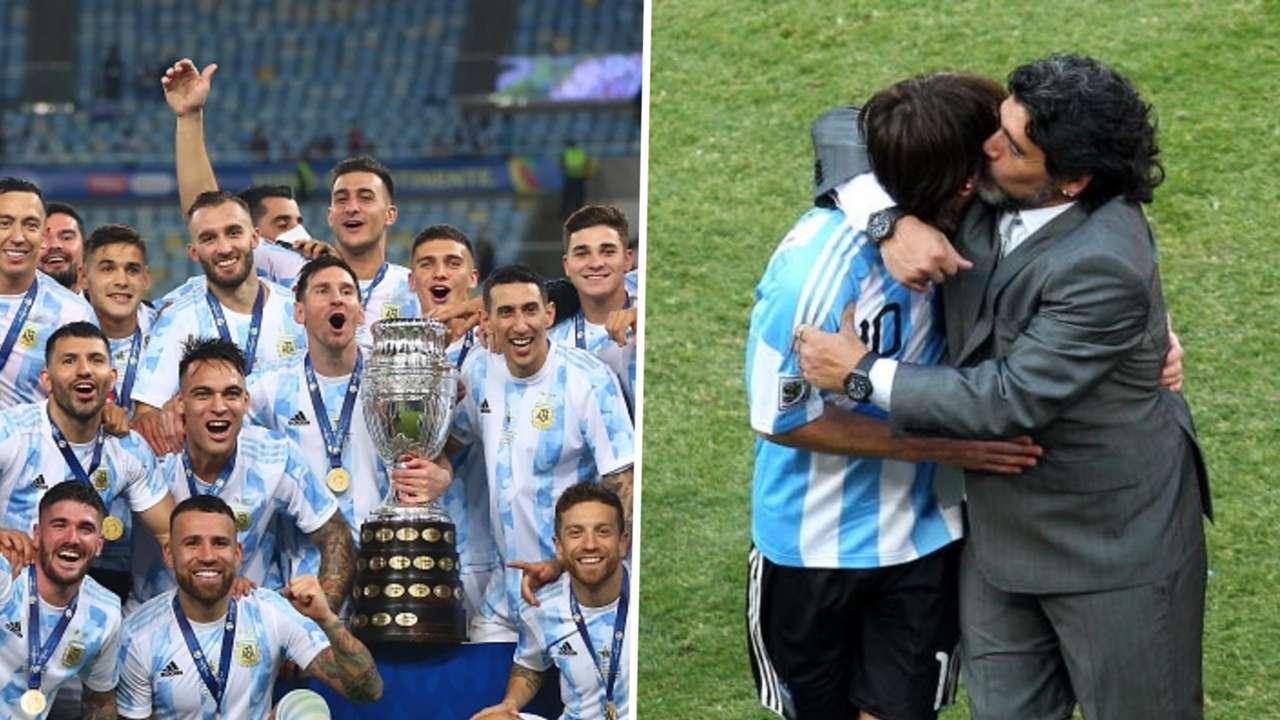 Lionel Messi, Lionel Messi, Diego Maradona