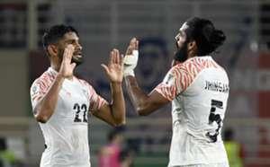 Anas and Jhingan India vs Thailand