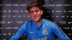 Brandon Cortés Boca 2019