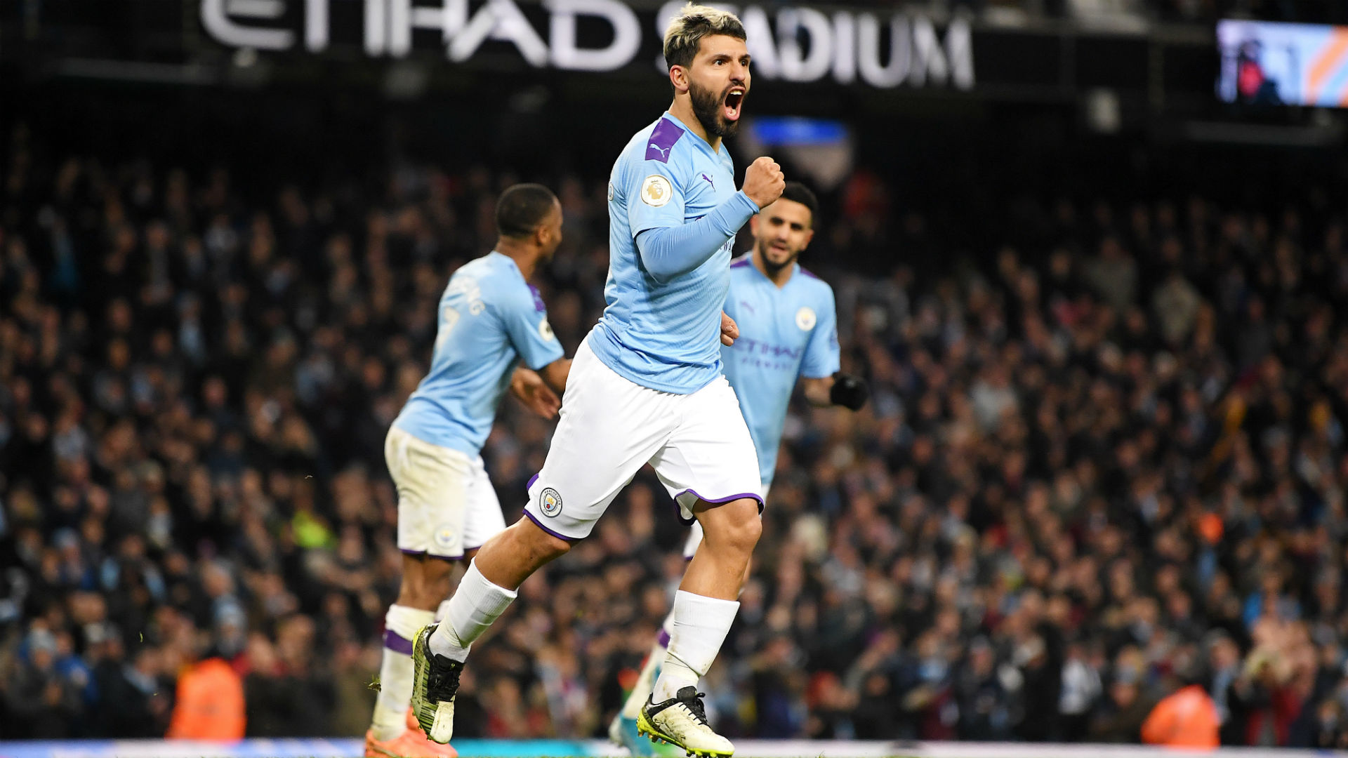 EPL: Aguero strikes as Manchester City beat Sheffield 1-0
