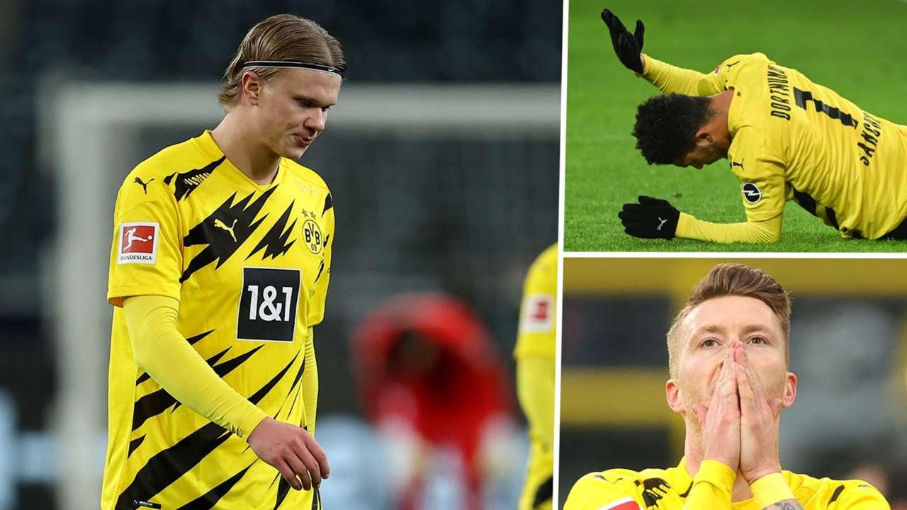 Haaland Sancho Reus Borussia Dortmund GFX
