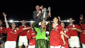 Man United 1999 Champions League winners